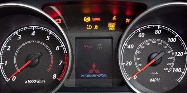 Как сбросить межсервисный интервал ТО на Mitsubishi ASX