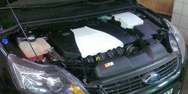 Замена расширительного бачка в Форд Фокус 2