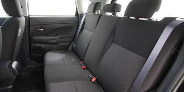 Как снять заднее сиденье Mitsubishi ASX