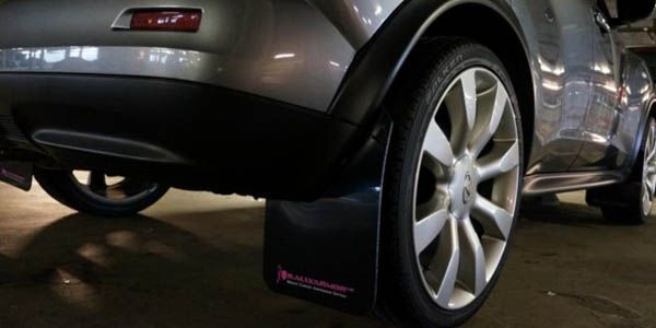 Брызговики установка на Nissan