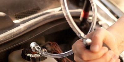 Прокачка тормозной системы самому на авто с АБС