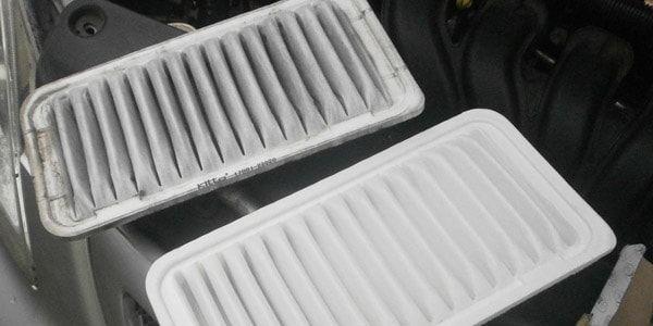 Замена воздушного фильтра в Toyota Corolla