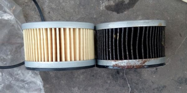 Замена топливного фильтра на Mitsubishi L200