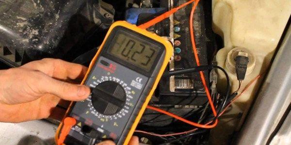 Всё про утечку тока в автомобиле