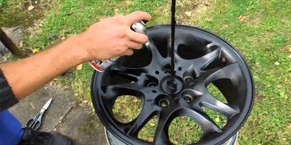 Покраска автомобильных дисков своими руками