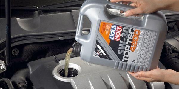 Меняем дизельное масло