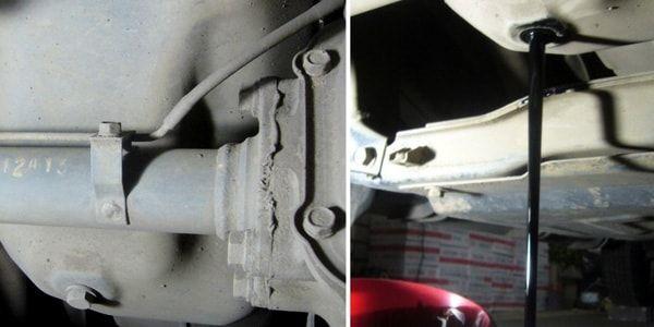 Замена масла ДВС и масляного фильтра на Mitsubishi L200
