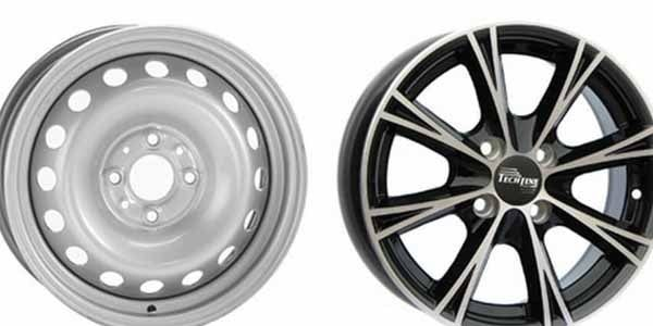 Разновидности колесных дисков