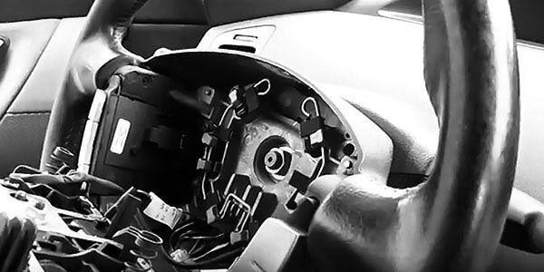 Как снять руль на Nissan Almera Classic