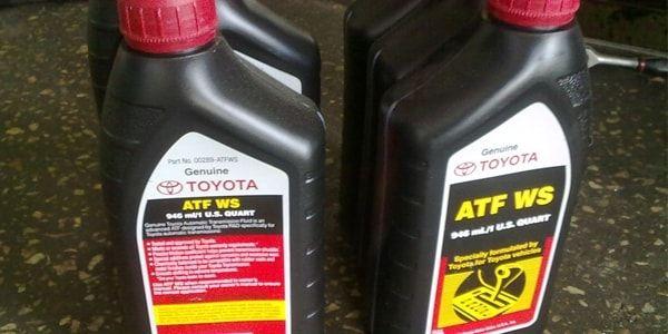 Замена масла в автоматической КПП Toyota Camry