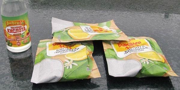 Промывка системы охлаждения двигателя лимонной кислотой