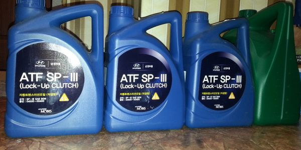 Замена масла в АКПП в Киа Сиид