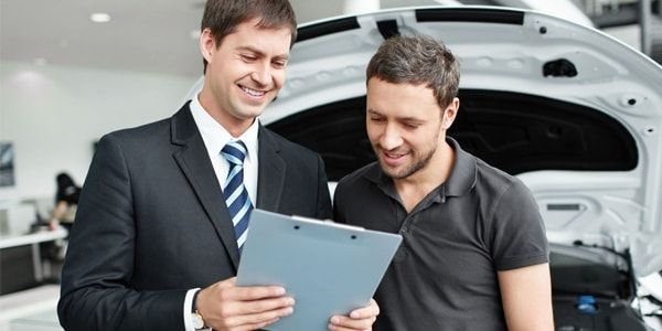 Порядок действий при покупки нового автомобиля в автосалоне