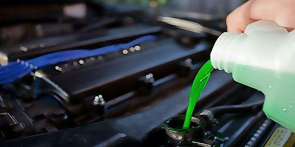 Замена жидкости системы охлаждения Nissan (замена антифриза)