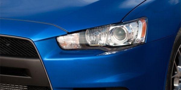 Как снять передние и задние фары на Mitsubishi Lancer 9 и 10
