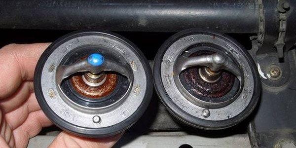 Замена термостата Toyota Corolla