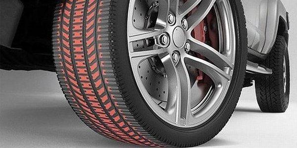 Цветные метки на шинах: желтые и красные точки