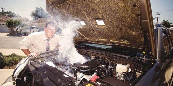 Перегревается двигатель автомобиля - в чем причина и что делать