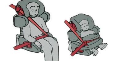 Как крепить автокресло на переднее сиденье