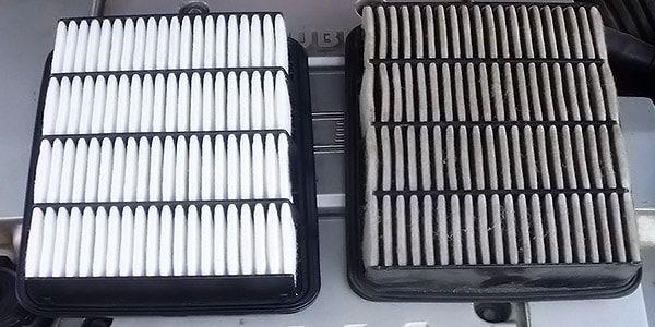 Замена воздушного фильтра на Мицубиси